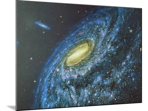 Artwork of the Milky Way Viewed From Outside-Chris Butler-Mounted Photographic Print