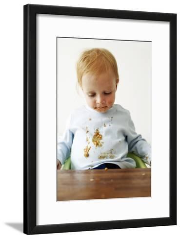 Messy Child-Ian Boddy-Framed Art Print