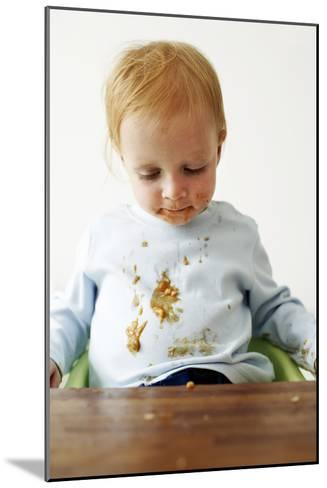 Messy Child-Ian Boddy-Mounted Photographic Print