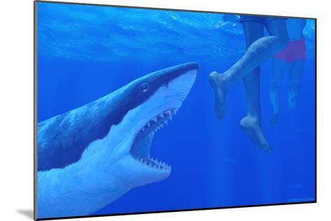 Shark Attack-Chris Butler-Mounted Photographic Print