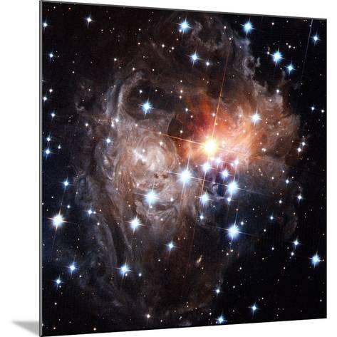 Light Echoes Around Star V838 Monocerotis-H. Bond-Mounted Photographic Print