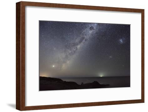Milky Way Over Flinders, Australia-Alex Cherney-Framed Art Print