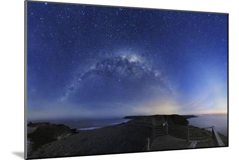 Milky Way Over Phillip Island, Australia-Alex Cherney-Mounted Photographic Print