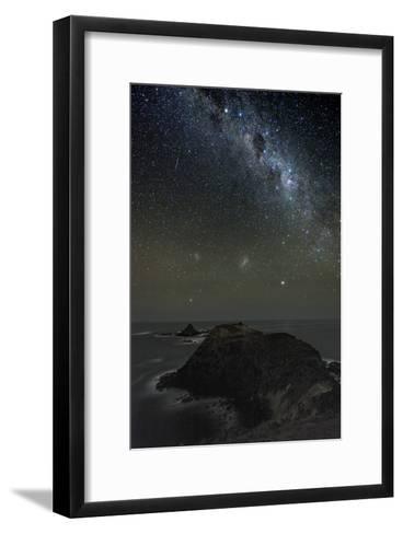 Milky Way Over Phillip Island, Australia-Alex Cherney-Framed Art Print