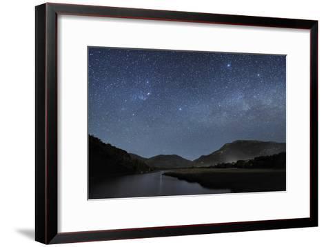 Milky Way Over Wilsons Promontory-Alex Cherney-Framed Art Print