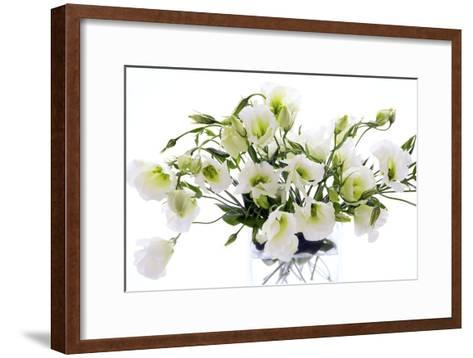 Lisianthus Flowers (Lisianthus Sp.)-Erika Craddock-Framed Art Print