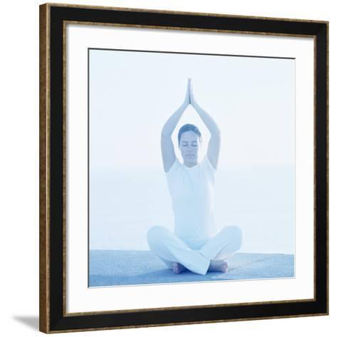Yoga Meditation-Cristina-Framed Art Print