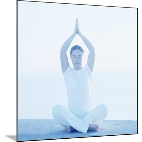 Yoga Meditation-Cristina-Mounted Photographic Print