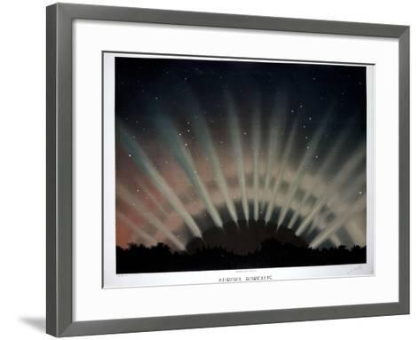 Aurora Borealis, 1872-Science, Industry and Business Library-Framed Art Print
