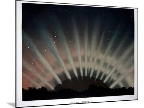 Aurora Borealis, 1872-Science, Industry and Business Library-Mounted Photographic Print