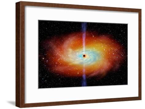 Black Hole-Chris Butler-Framed Art Print
