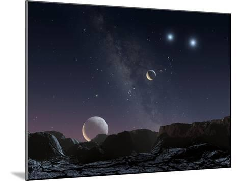 View From An Alien Planet, Artwork-Chris Butler-Mounted Photographic Print