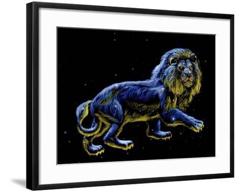 Constellation of Leo, Artwork-Chris Butler-Framed Art Print