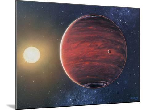 Artwork Depicting the Planet 51 Pegasi B & Its Sun-Chris Butler-Mounted Photographic Print