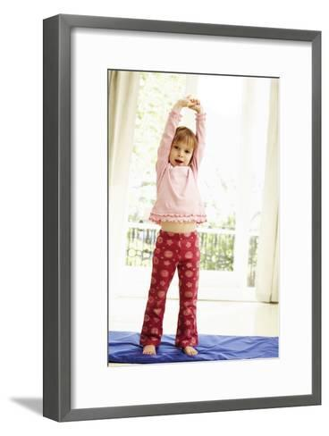 Childhood Exercise-Ian Boddy-Framed Art Print