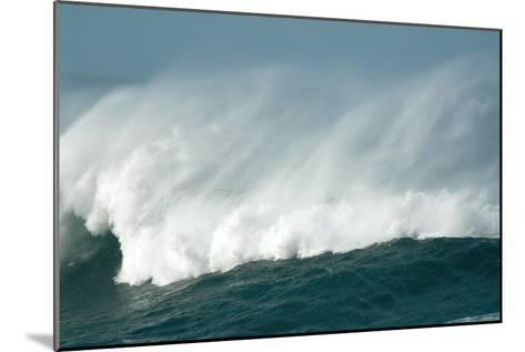 Wind Spray At Sea-Peter Chadwick-Mounted Photographic Print