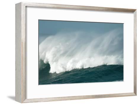 Wind Spray At Sea-Peter Chadwick-Framed Art Print