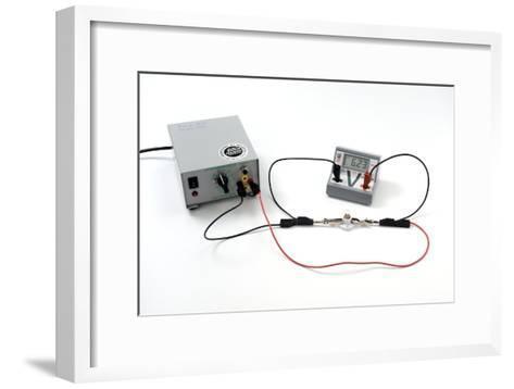 Simple Electrical Circuit-Trevor Clifford-Framed Art Print