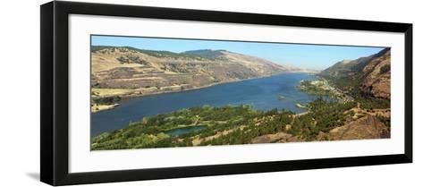 Columbia River Gorge, USA-Tony Craddock-Framed Art Print