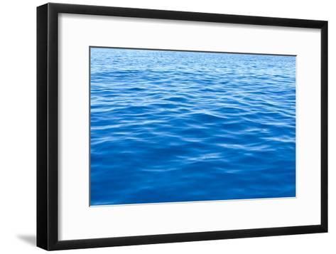 Calm Sea-Peter Chadwick-Framed Art Print