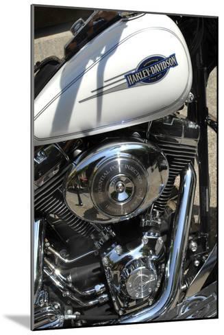 Motorcycle Engine-Tony Craddock-Mounted Photographic Print