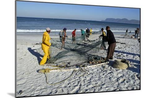 Trek Net Fishing-Peter Chadwick-Mounted Photographic Print