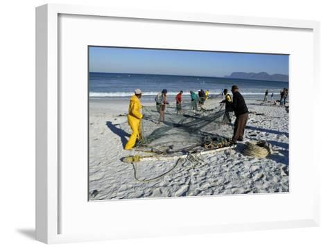 Trek Net Fishing-Peter Chadwick-Framed Art Print