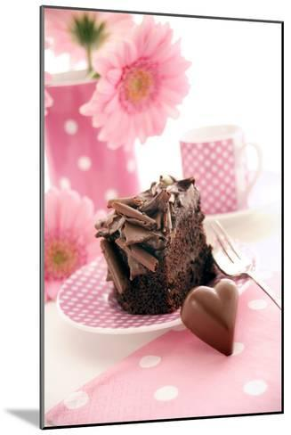 Chocolate Cake-Erika Craddock-Mounted Photographic Print