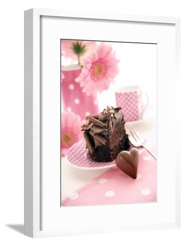 Chocolate Cake-Erika Craddock-Framed Art Print