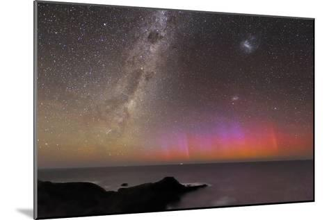 Aurora Australis And Milky Way-Alex Cherney-Mounted Photographic Print