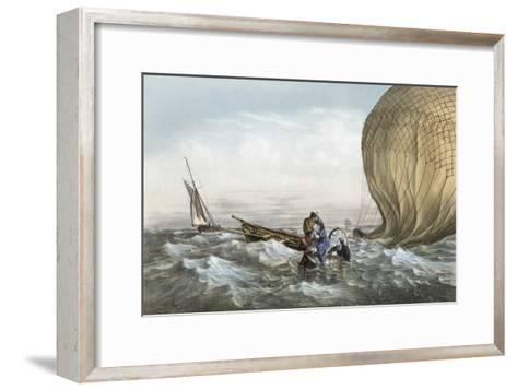 Early Balloon Accident, 1784-Library of Congress-Framed Art Print