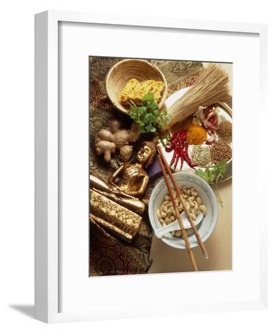Ingredients for Cooking Thai Food-Erika Craddock-Framed Art Print