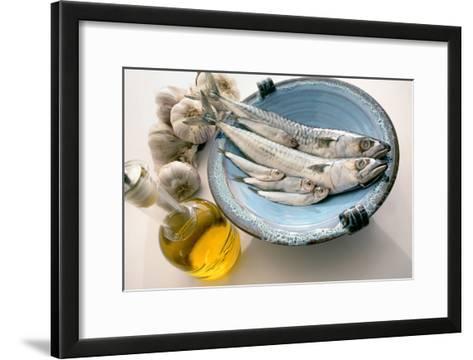 Plate of Mackerel-Erika Craddock-Framed Art Print