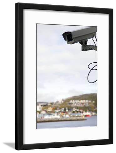 Security Camera-Cristina-Framed Art Print