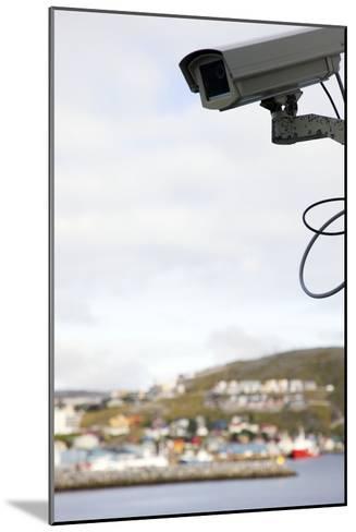 Security Camera-Cristina-Mounted Photographic Print
