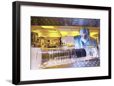 MEMS Production-Colin Cuthbert-Framed Art Print