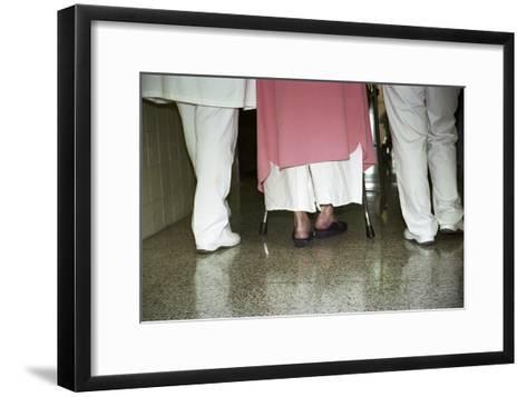 Patient Assistance-Cristina-Framed Art Print