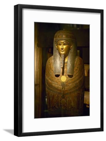 Mummy Cover of Panehesy-Colin Cuthbert-Framed Art Print