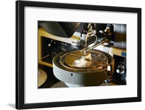 MEMS Production, External Connections-Colin Cuthbert-Framed Art Print