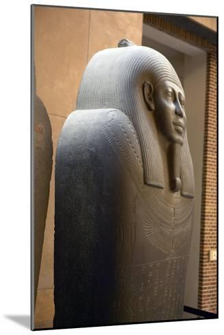 Sarcophagus of Ahmes-Colin Cuthbert-Mounted Photographic Print