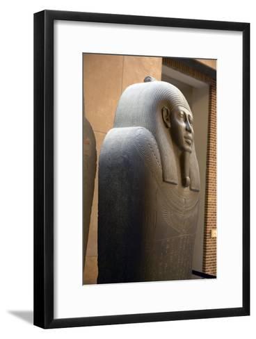 Sarcophagus of Ahmes-Colin Cuthbert-Framed Art Print