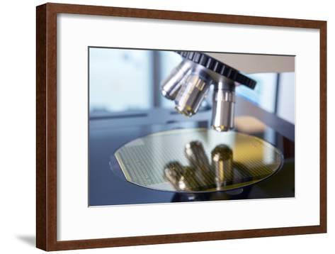 MEMS Production, Quality Control-Colin Cuthbert-Framed Art Print