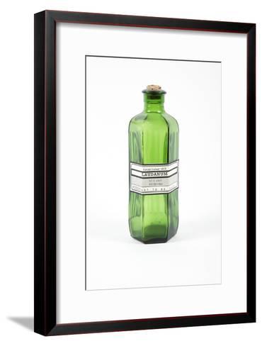 Antique Laudanum Bottle-Gregory Davies-Framed Art Print