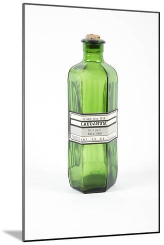 Antique Laudanum Bottle-Gregory Davies-Mounted Photographic Print