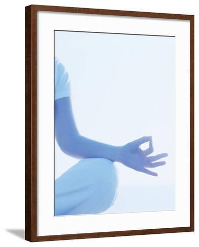 Yoga Pose-Cristina-Framed Art Print
