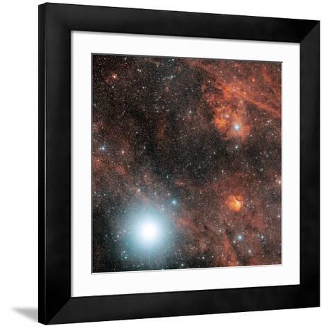 Deneb And Emission Nebulae-Davide De Martin-Framed Art Print