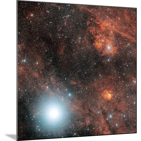 Deneb And Emission Nebulae-Davide De Martin-Mounted Photographic Print