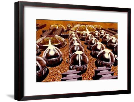 Mars Colony-Christian Darkin-Framed Art Print