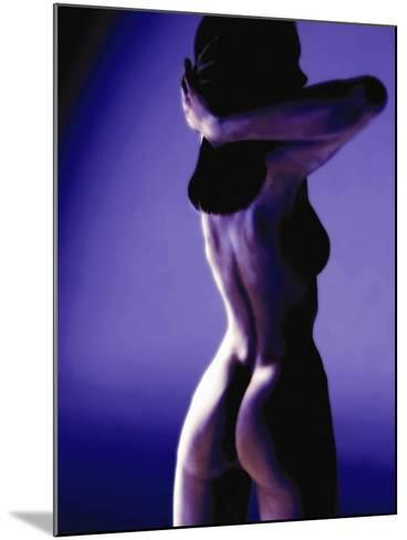 Naked Woman, Computer Artwork-Christian Darkin-Mounted Photographic Print