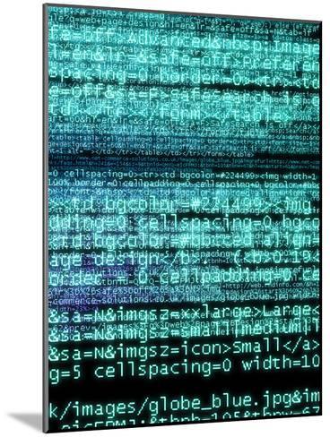 Internet Computer Code-Christian Darkin-Mounted Photographic Print